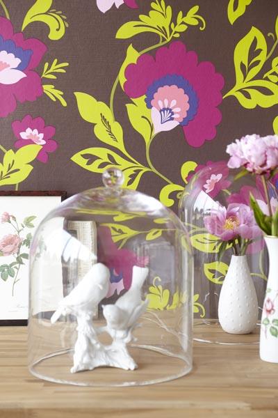 321806 Designer modern meets vintage wallpaper by Eijffinger