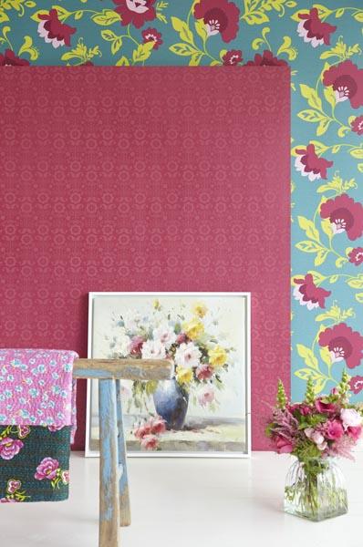 321824 Designer Contemporary Floral Wallpaper by Eijffinger