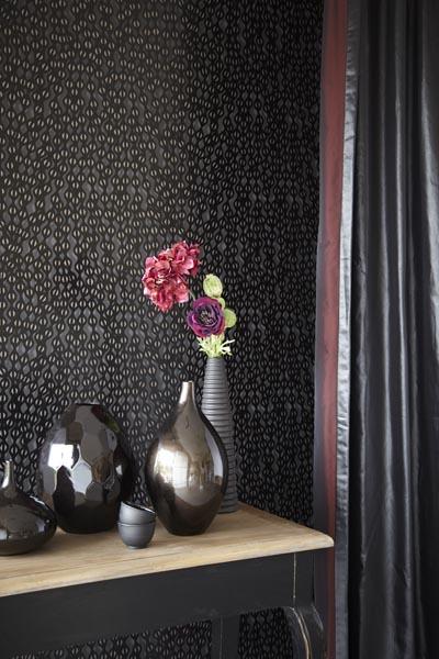 321833 designer black wallpaper by Eijffinger