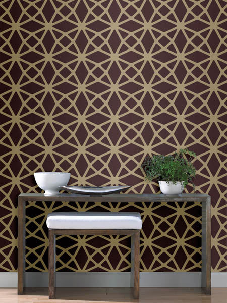 A contemporary wallpaper from the new Geo collection