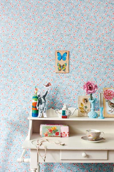 Pip Eijffinger Vintage Floral WallPaper