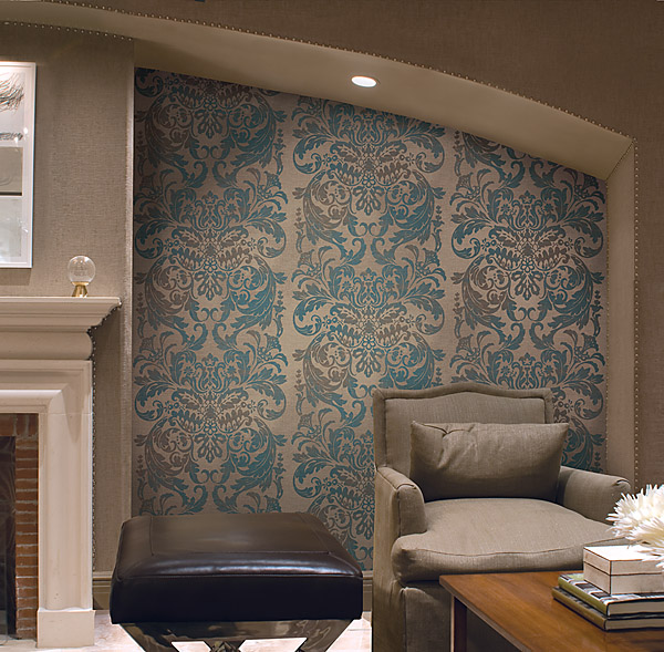 Create A Patchwork Feature Wall: Create A Feature Wall With Wallpaper