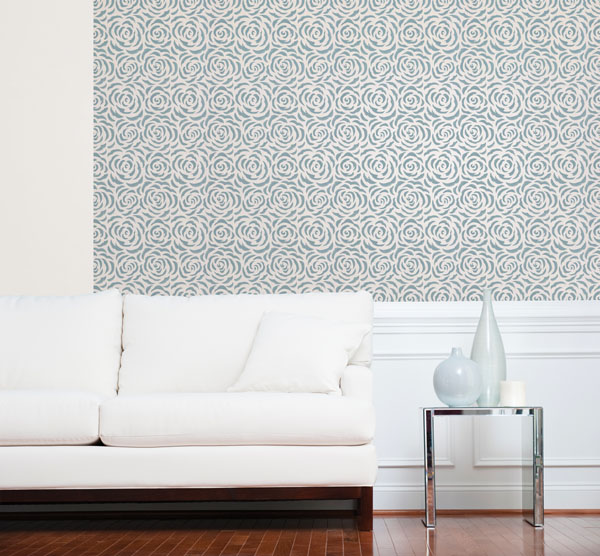 Modern Floral Wallpaper from Kenneth James Naturale