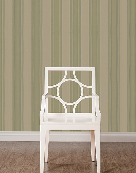 A traditional stripe wallpaper from Brewster Home Fashions