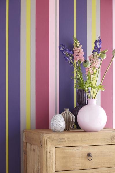 Contemporary Stripe Wallpaper from Eijffinger