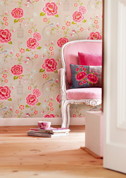 Floral Wallpaper – Brewster Home