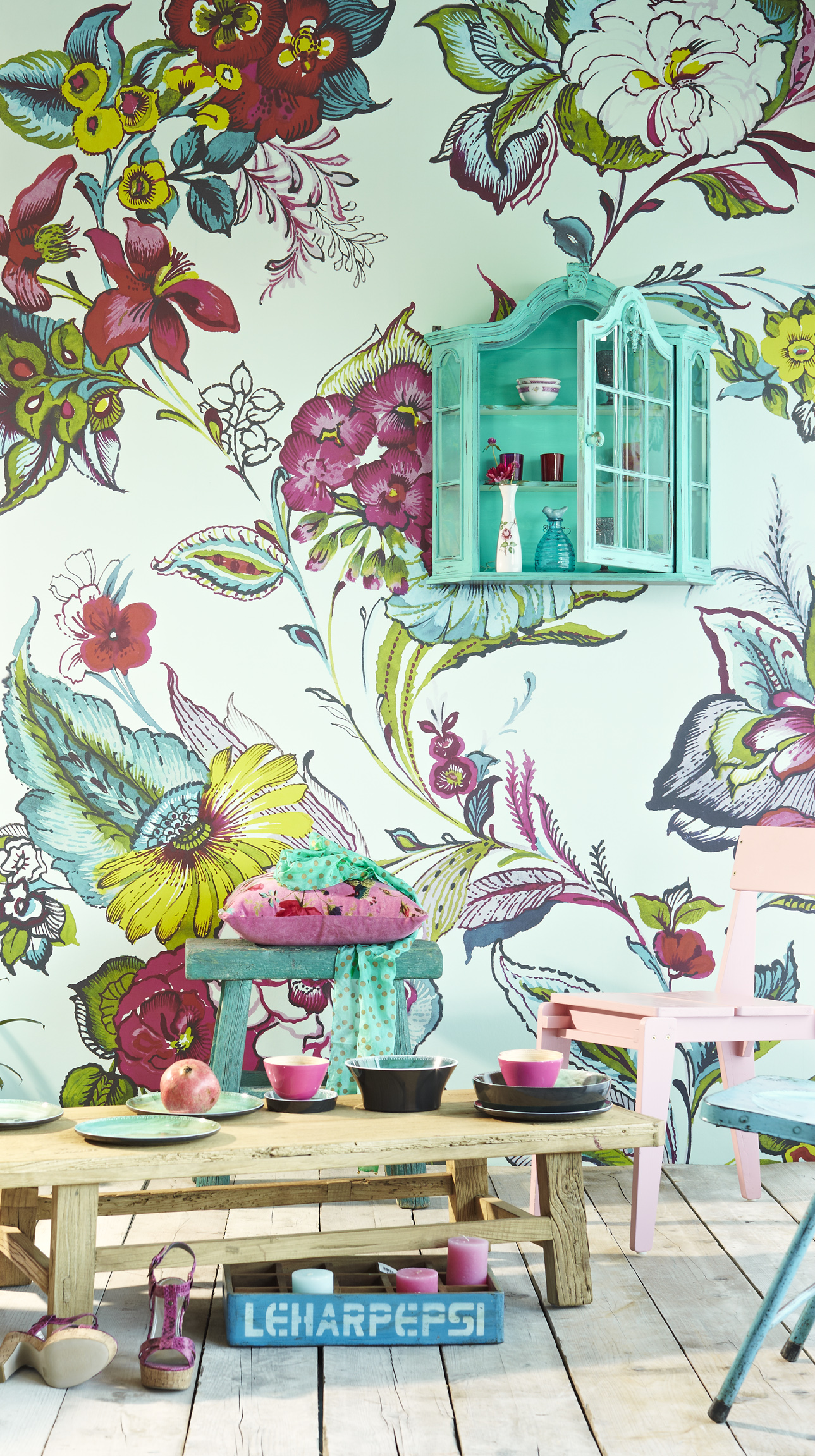 Designer wallpaper brewster wallcovering blog for Designer wallpaper mural
