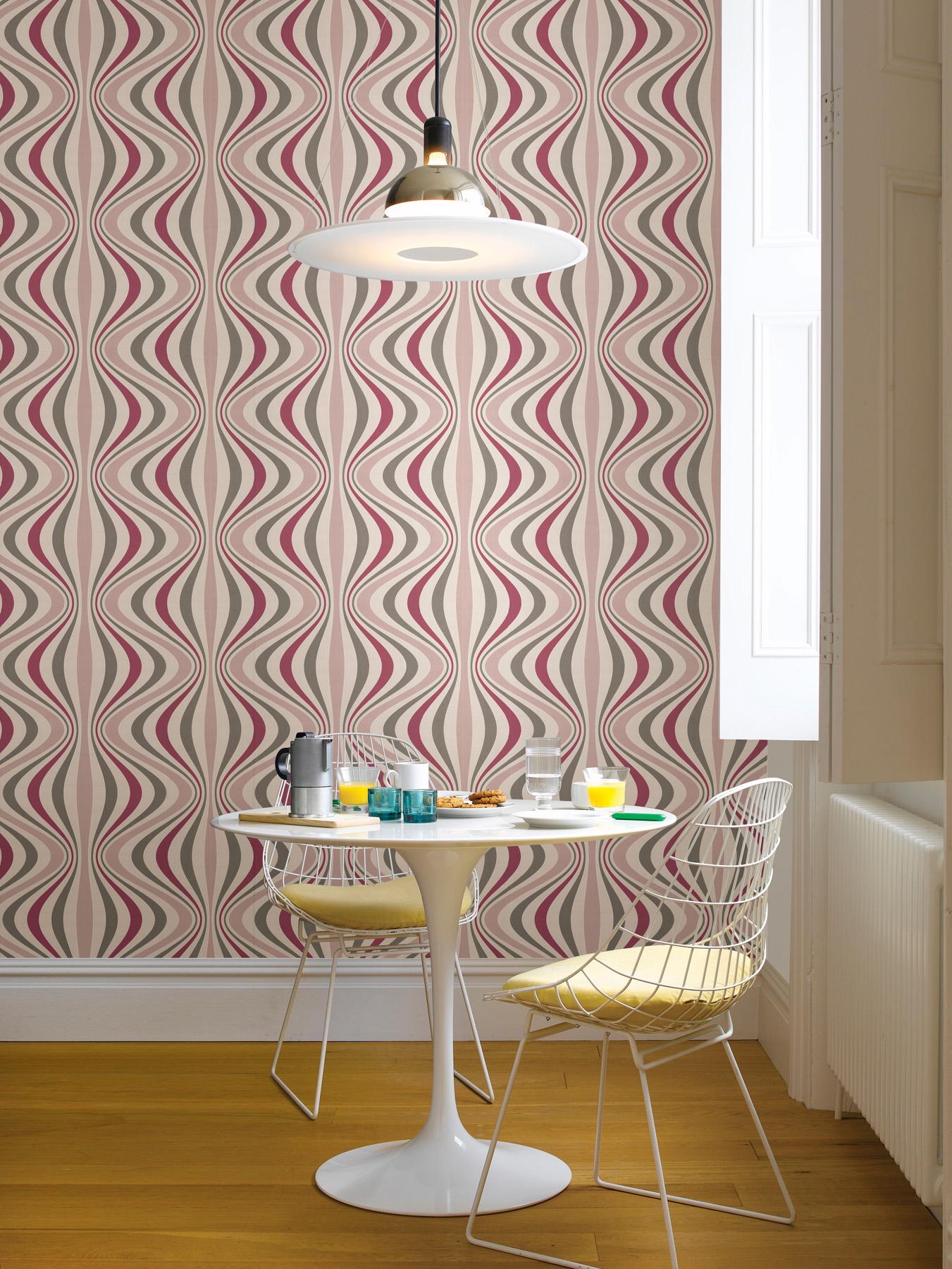 pink modern wallpaper