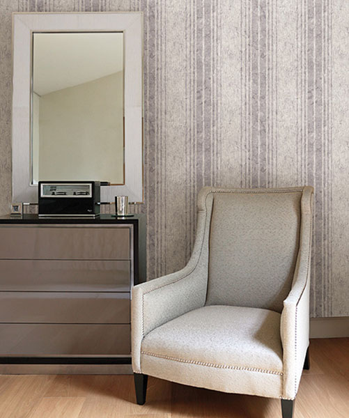 672-20041 Designer Stripe wallpaper by Kenneth James from the Onyx Wallpaper Collection