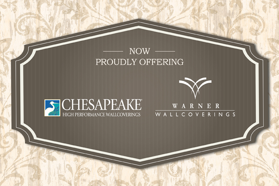 Brewster Chesapeake Warner Wallpaper Announcement