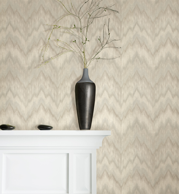 Brocade Flame Stitch Wallpaper coming soon from Brewster Home Fashions