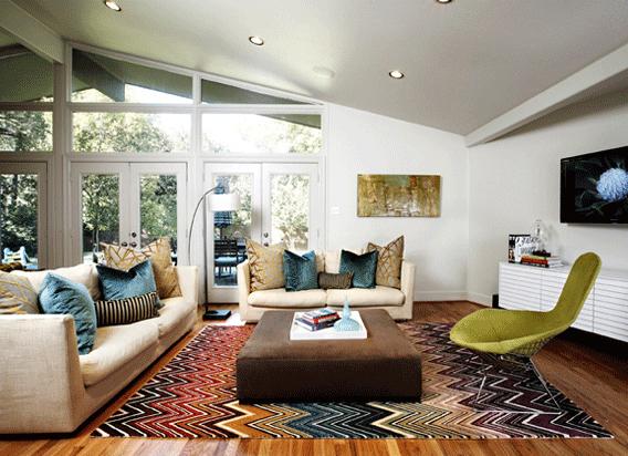 Missoni Home Decor Flame Stitch Rug via pulp design studios