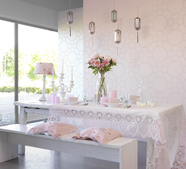 Carte Blanche 2014 home decor trend lace