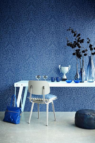 Cobalt Blue decor idea