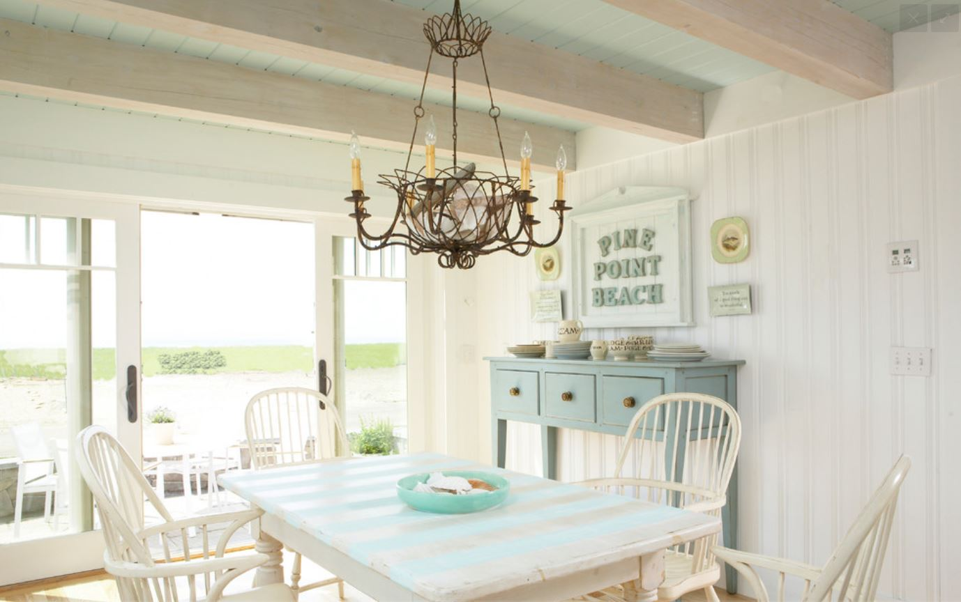 Coastal chic beach homes brewster home for Beach cottage style decor