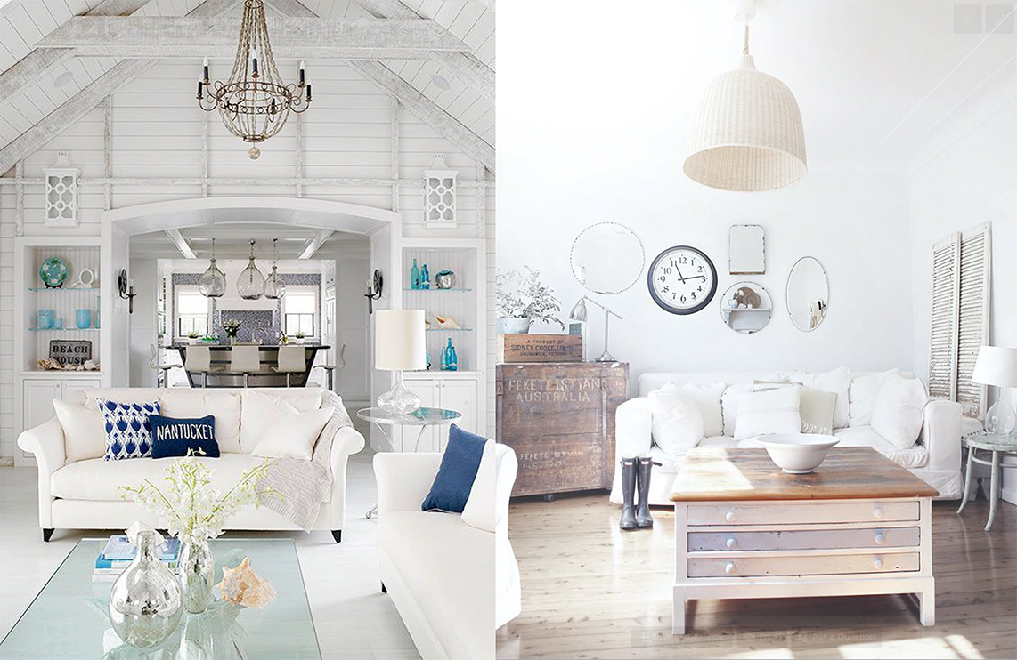 Style Via Better Homes Gardens Left A Beach Cottage Blog R