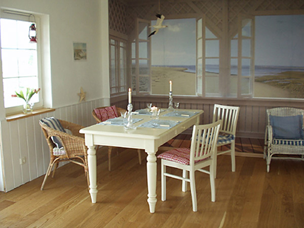 Trompe l oeil decor brewster wallcovering blog for Bay view wall mural