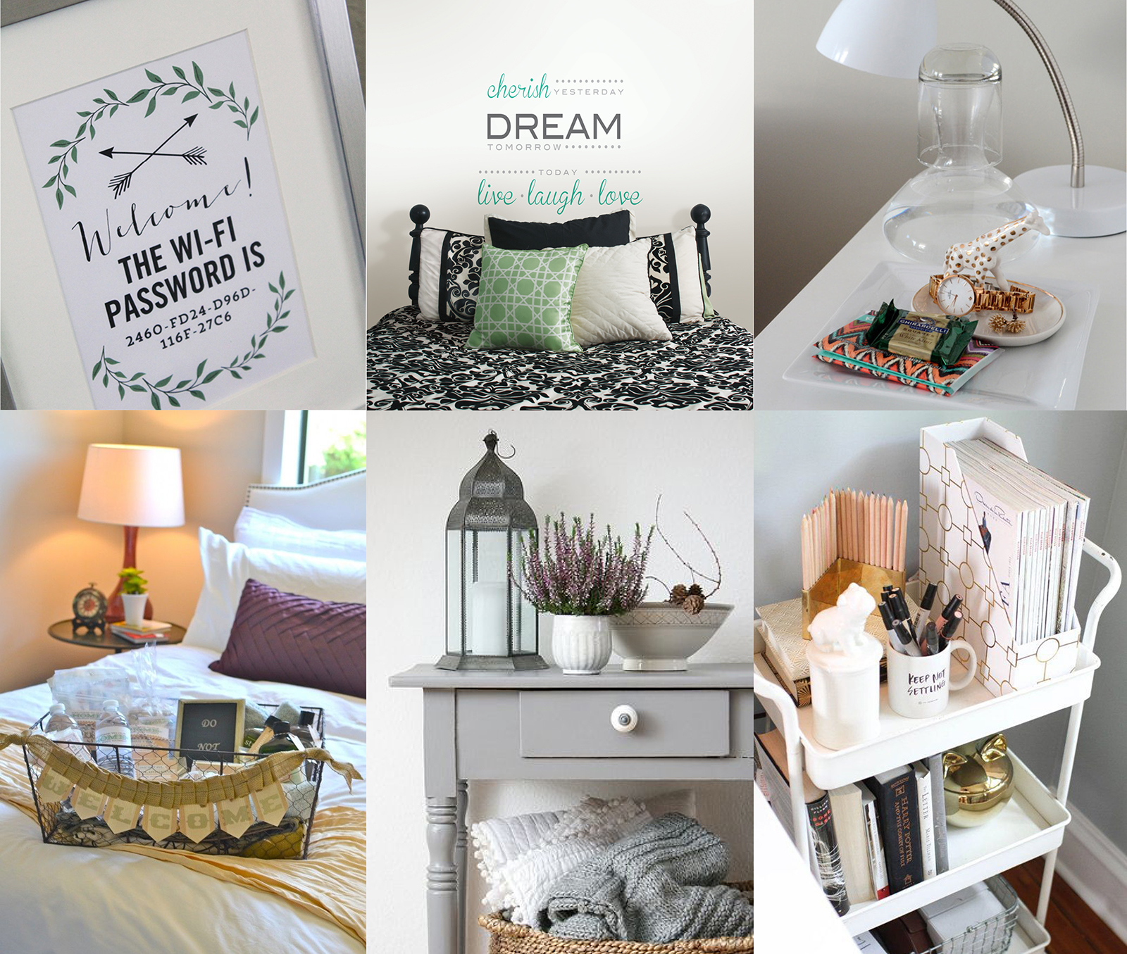 Extra Touches for Happy Guest Room Decor ideas this holiday
