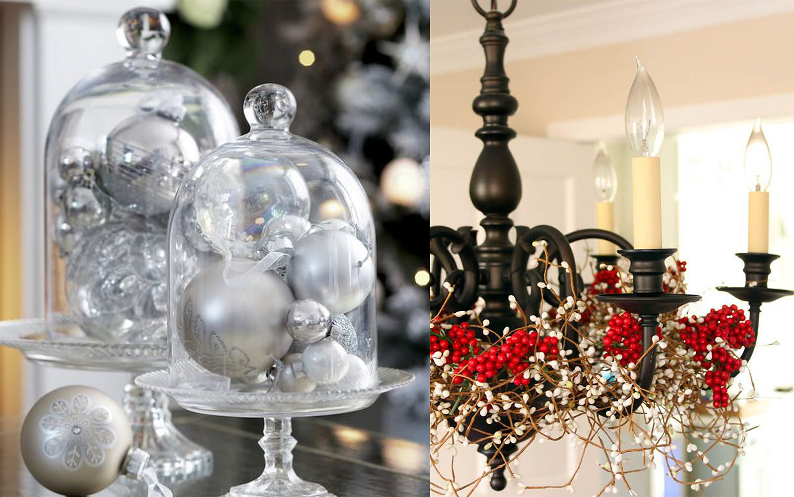 holiday decor accents
