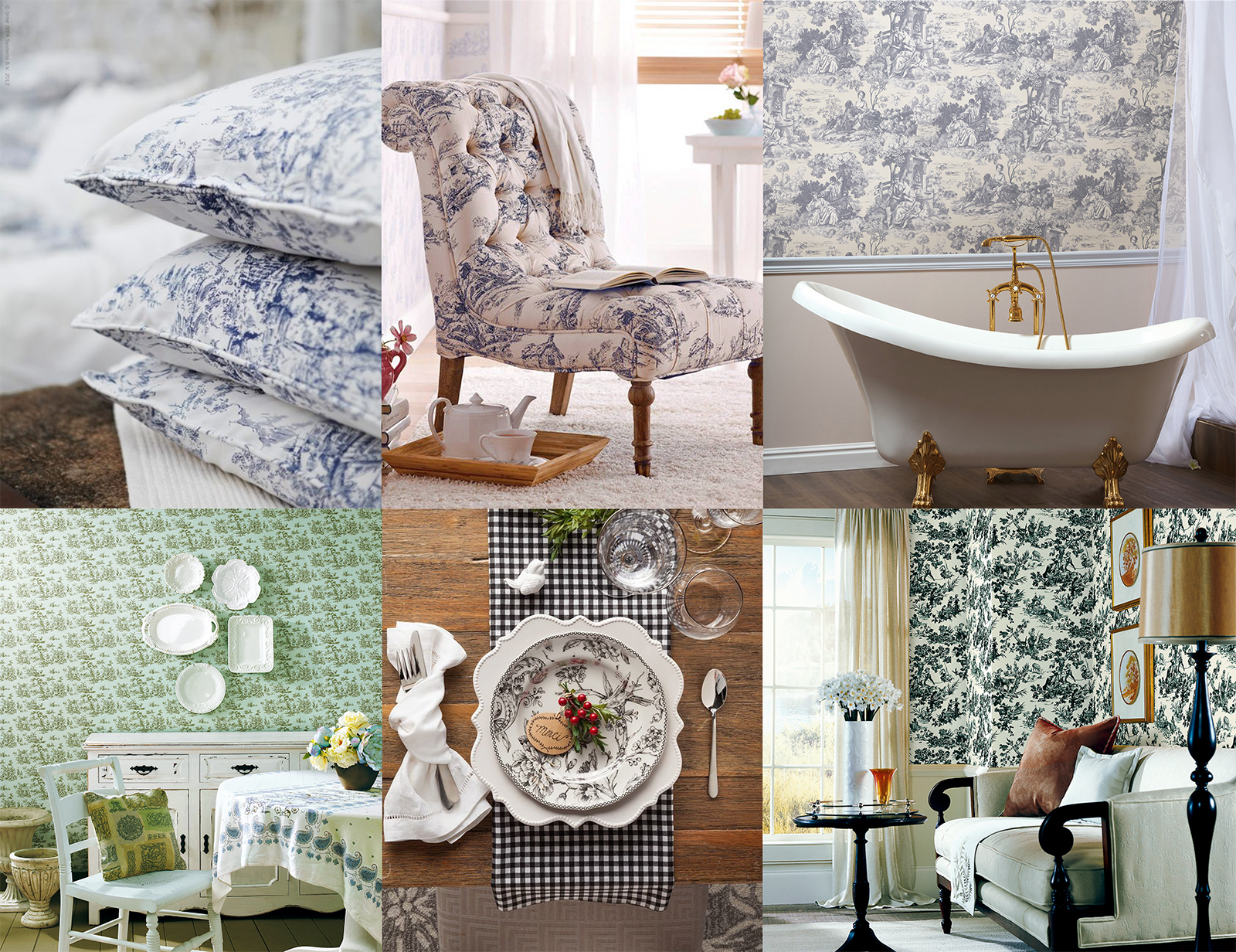 Toile wallpaper brewster wallcovering blog Home goods decor pinterest