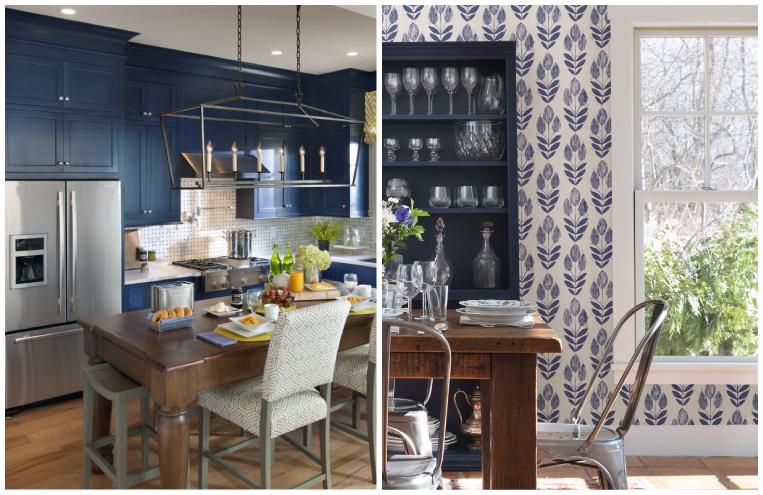 bold blue decor trend spring 2015