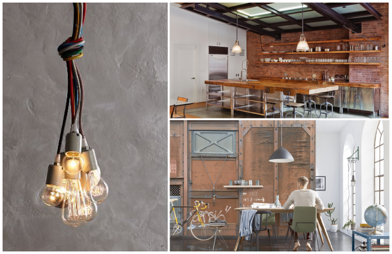 Industrial Chic Decor Trend Spring 2015