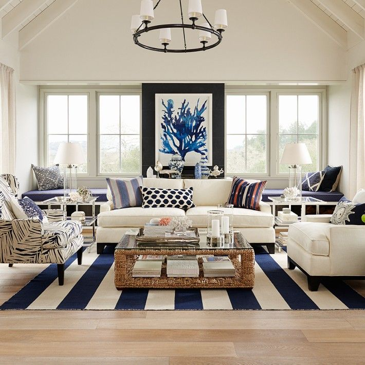 Nautical Decorating Ideas Home Part - 26: Decorating Ideas Inspired By The Sea. Nautical Chic
