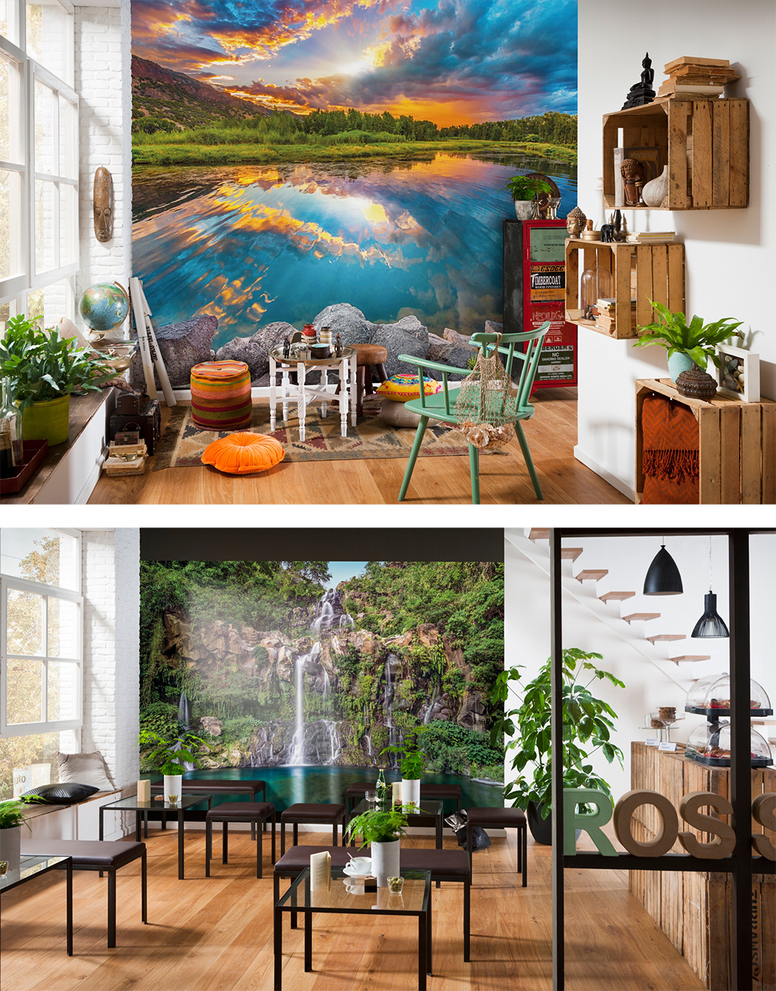 landscape murals