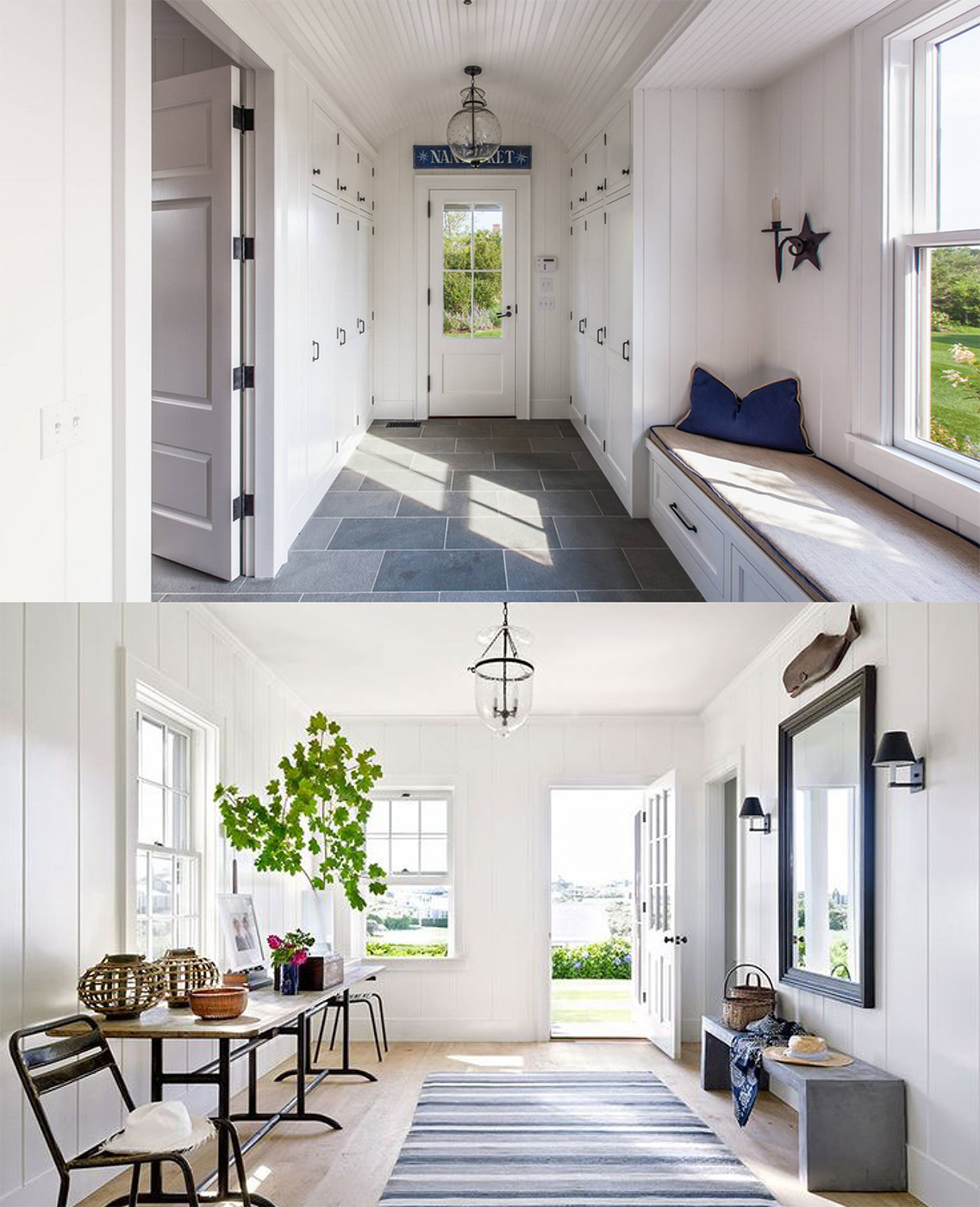 Nantucket Entryway