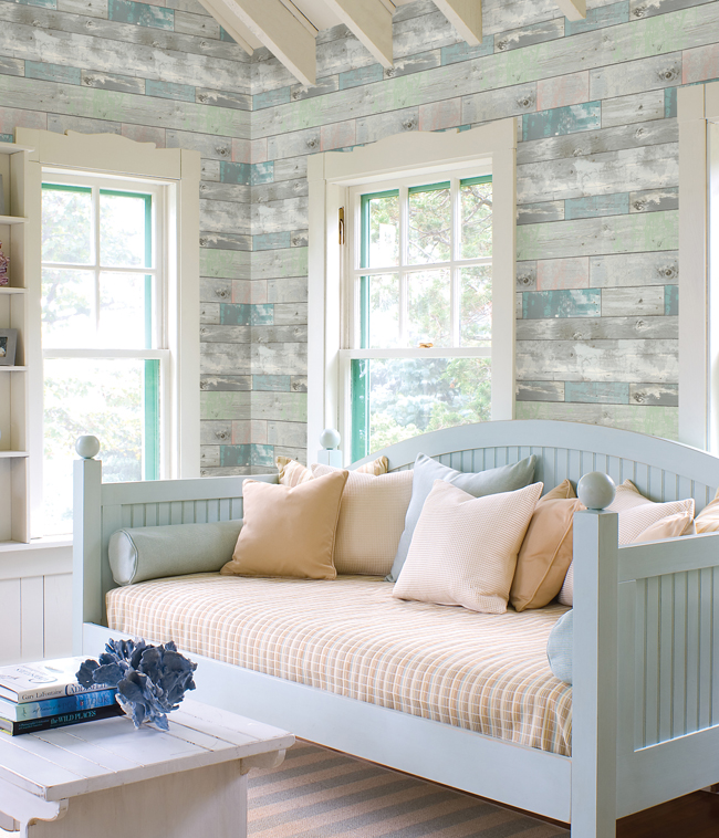 weathered wood room