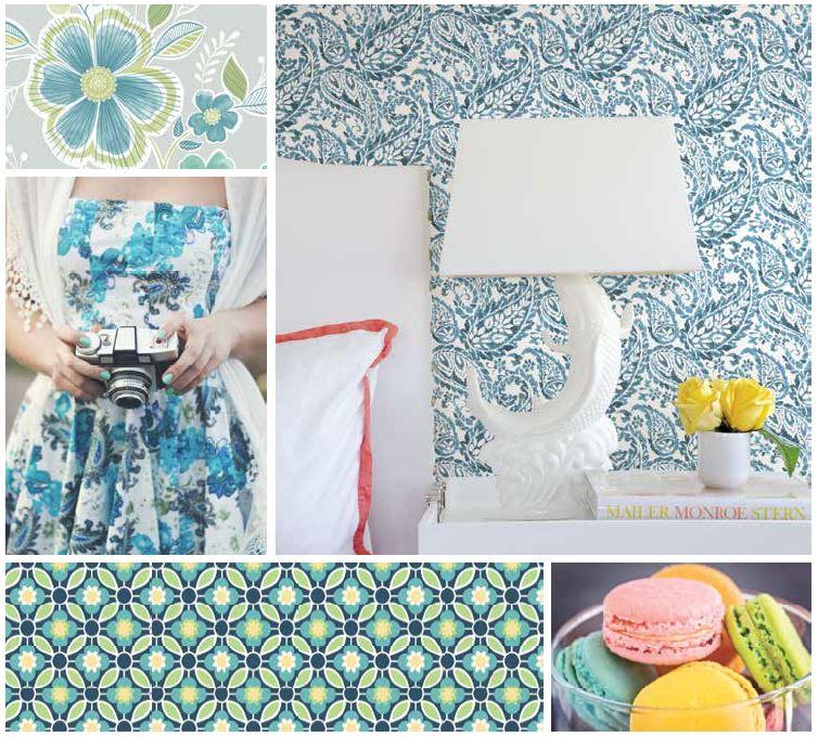 Ami blue wallpaper