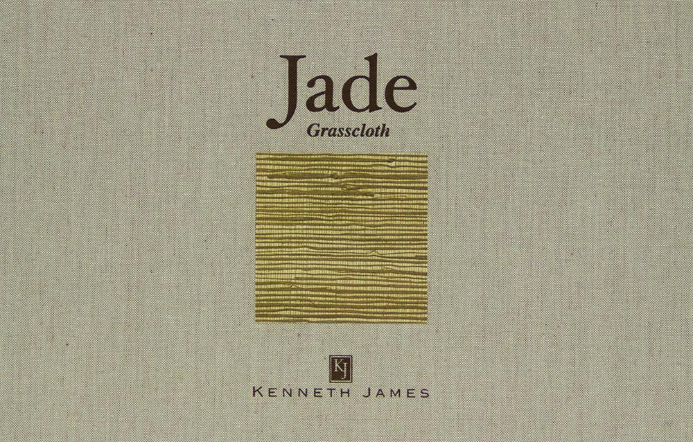 Jade grasscloth