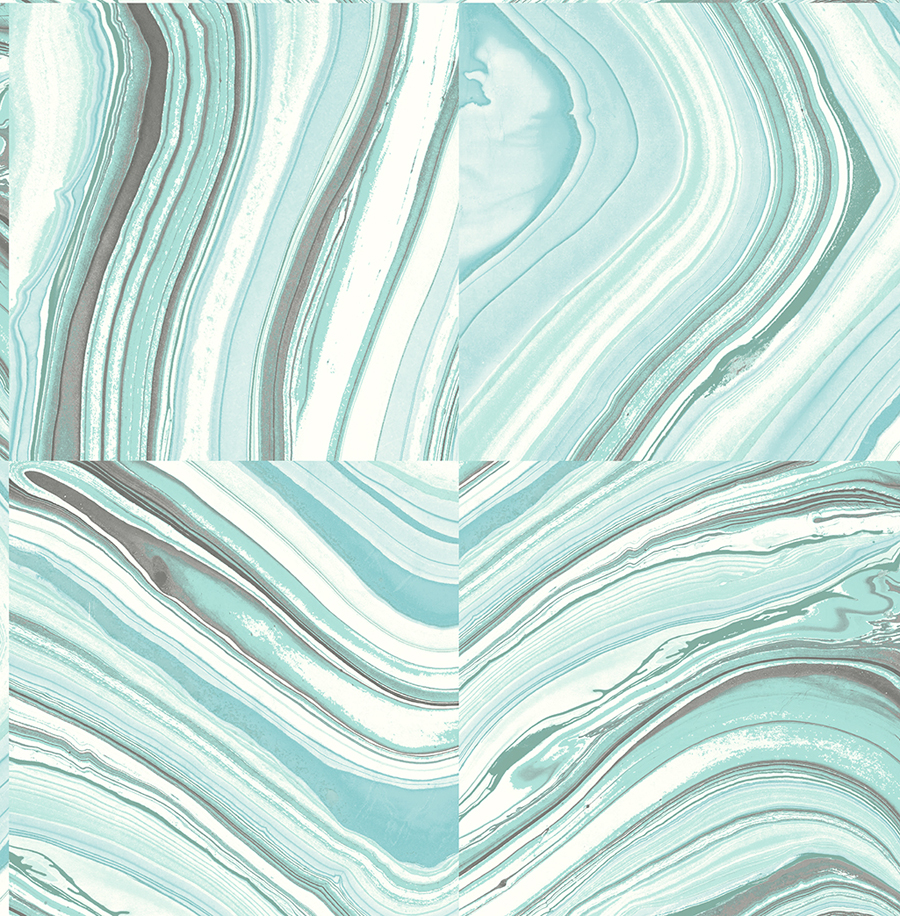 Agate Turquoise wallpaper