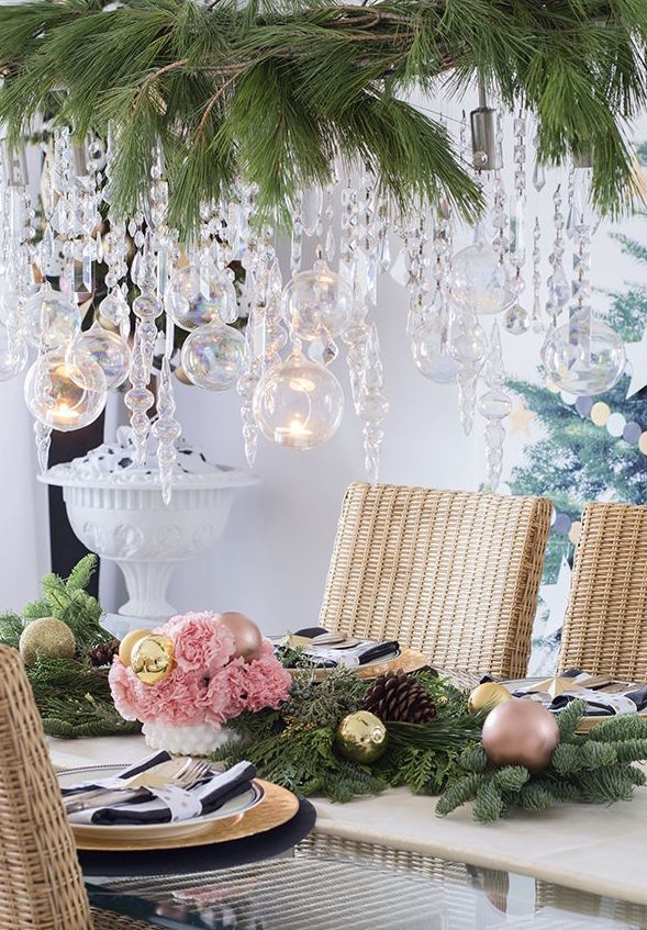 magical dining room decor