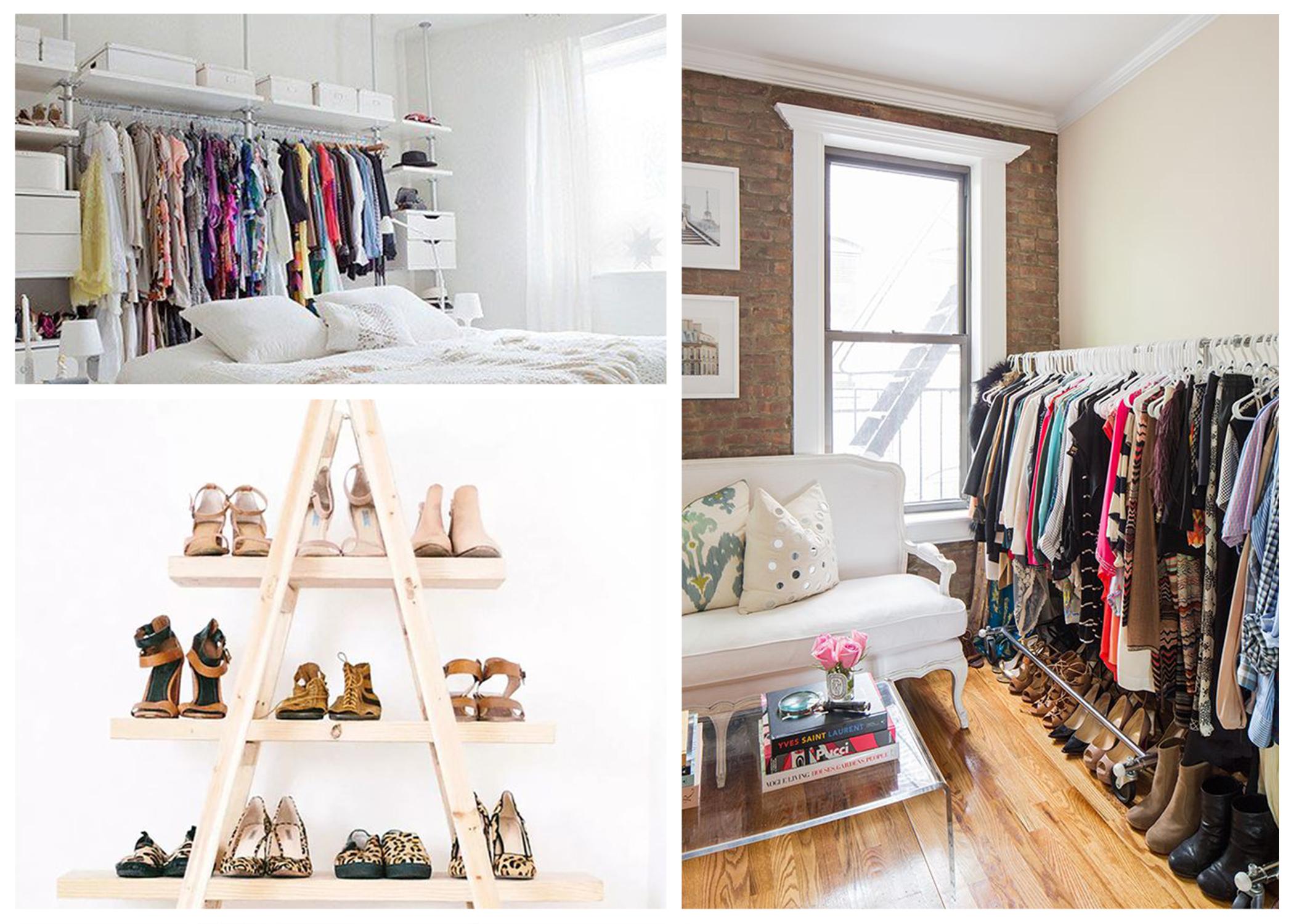 no closet organization tips