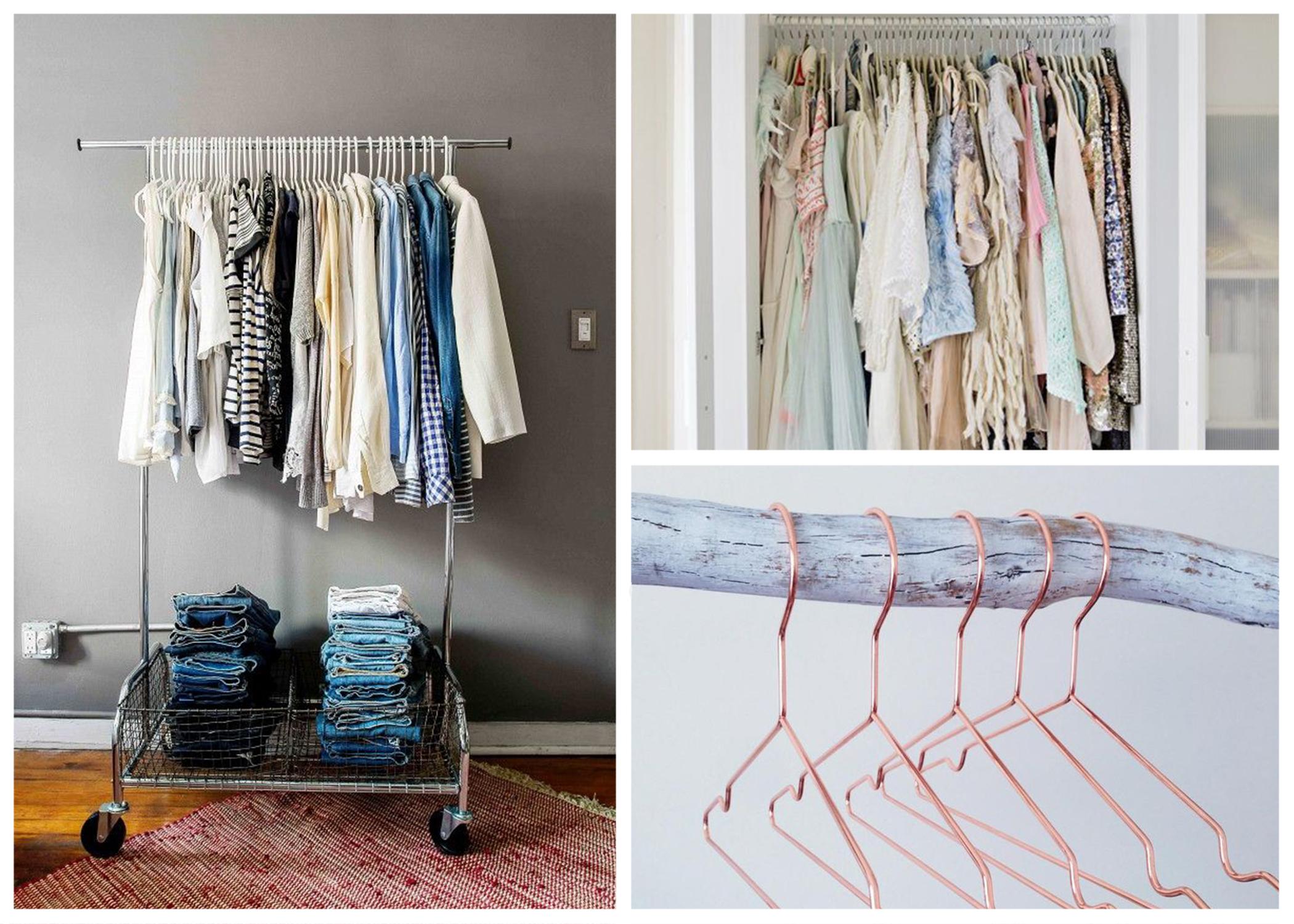 matching your coat hangers