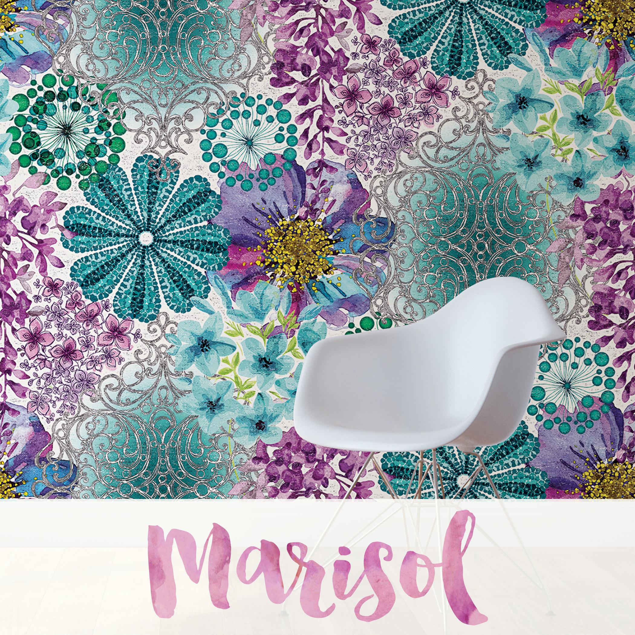 Marisol Wall Mural