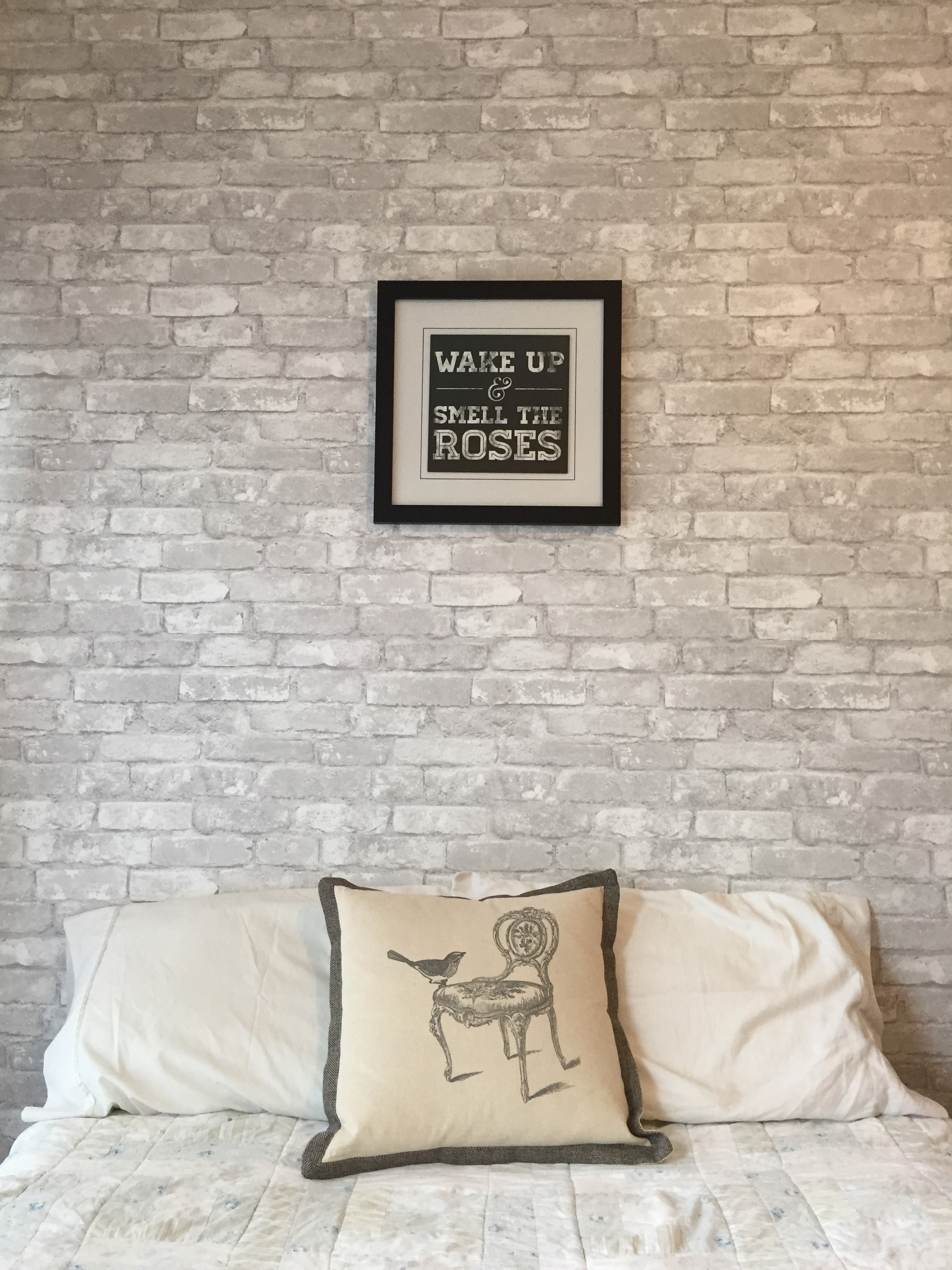 Video: White Brick Feature Wall – Brewster Home
