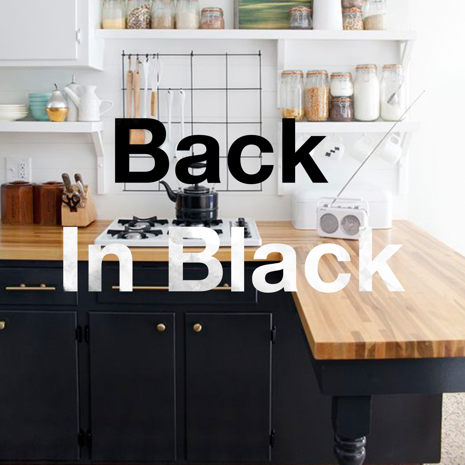 Kitchen Refresh Black Kitchen Ideas To Inspire Your Spring Refresh Brewster Home