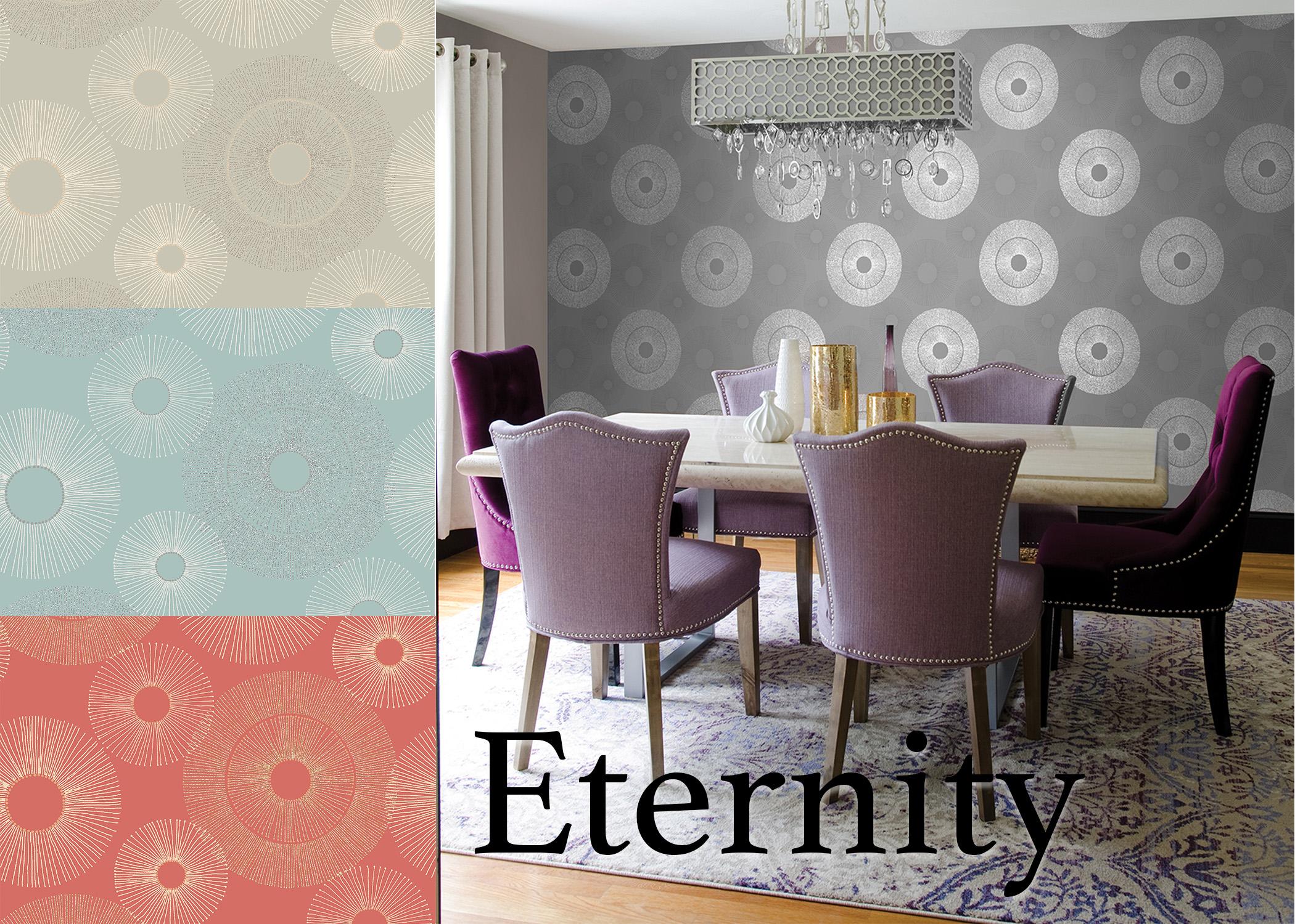 Eternity Geometric Wallpaper
