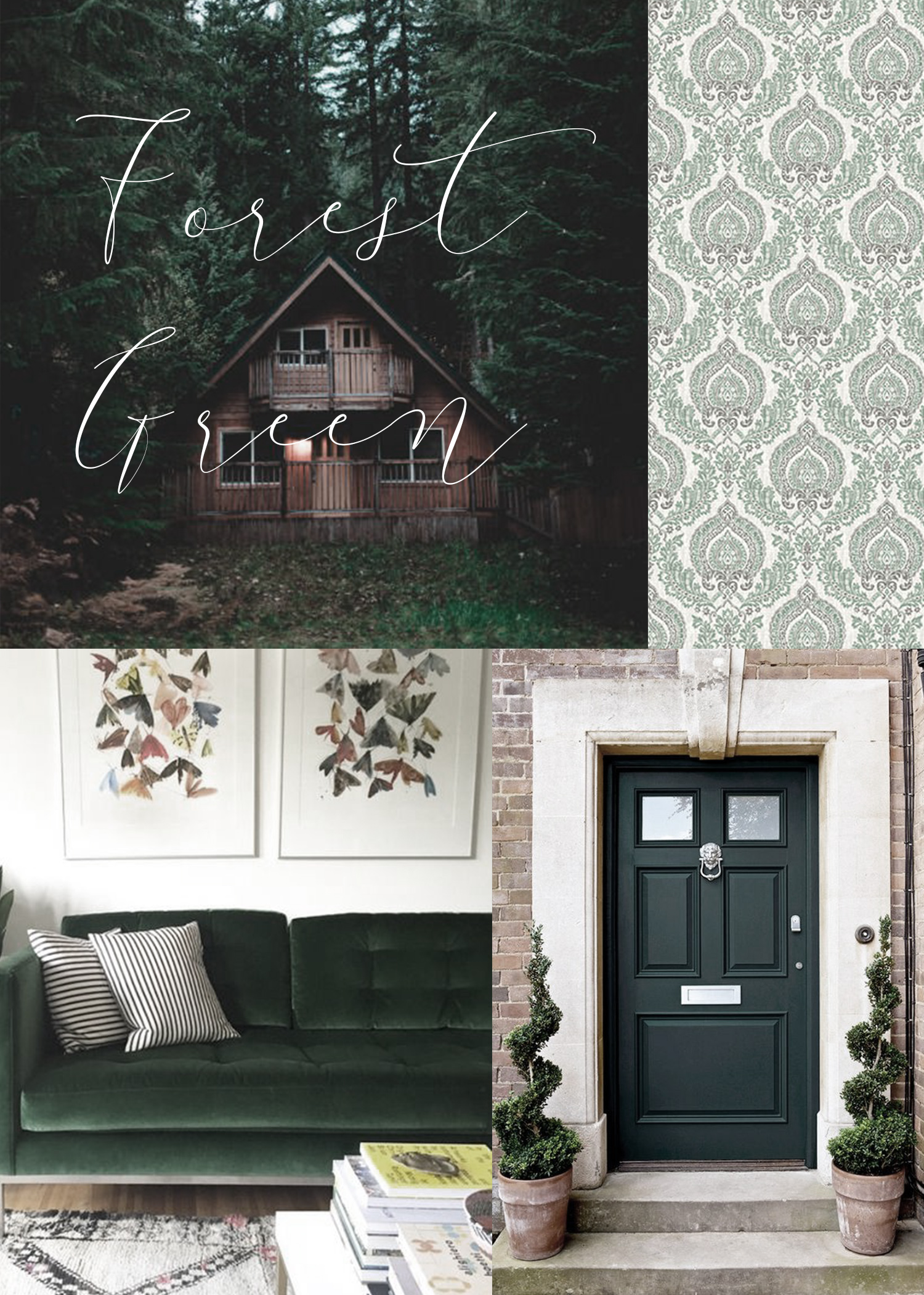 Forest Green Decor