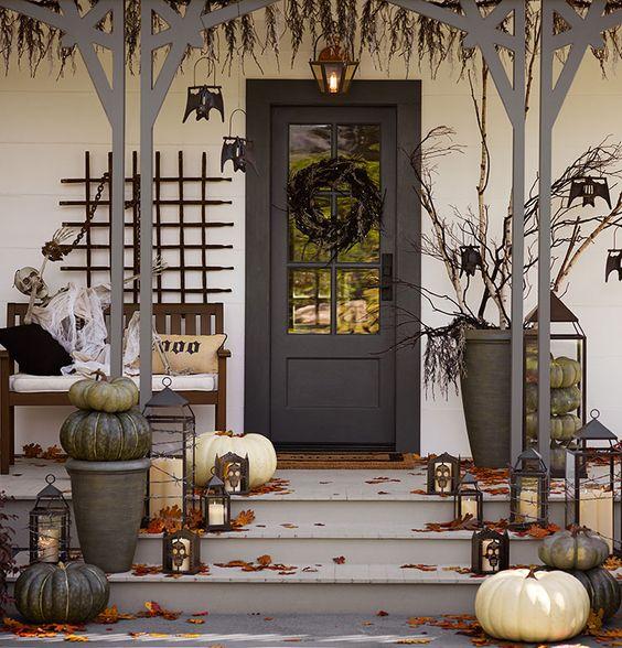 spooky fall porch via Pottery Barn Tumblr