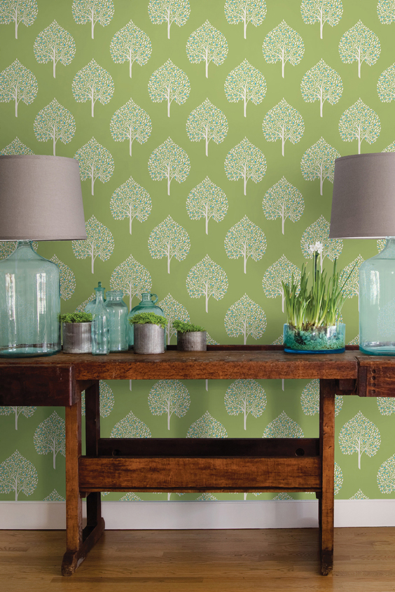 "How to Incorporate 2017's ""Greenery"" Into Your Home"