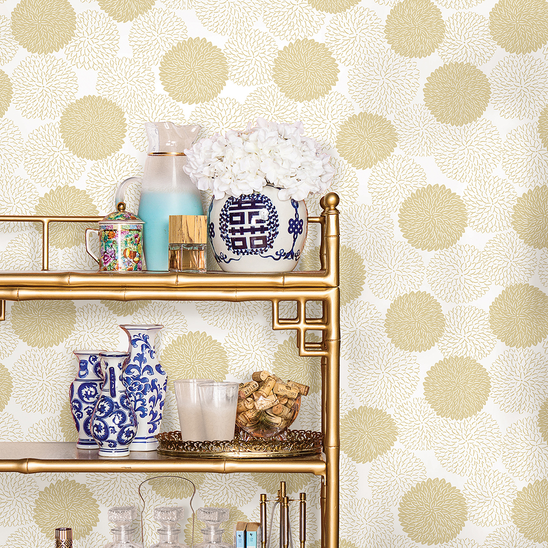 Mistral Wallpaper Collection: East Meets West
