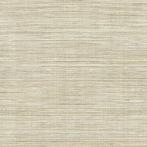 Neutral grasscloth wallpaper