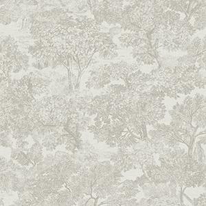 Tree toile wallpaper