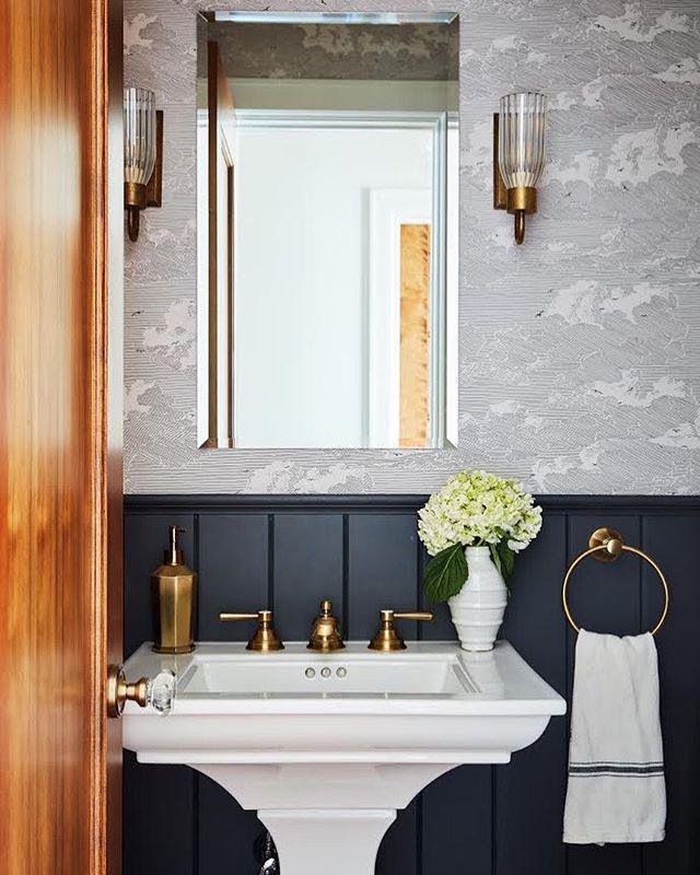 Nautical themed bathroom renovation