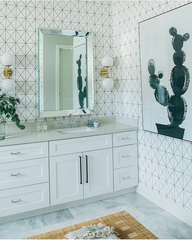 Spa-like bathroom renovation 2