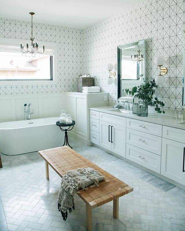 Spa-like bathroom renovation