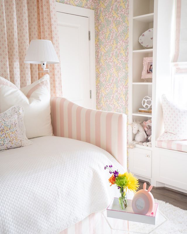 Bold design comes in all hues as Sara Johnson proves with this playful girls' room.